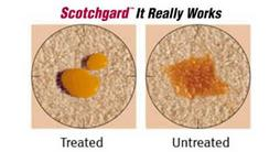Scotchgard carpet protectant